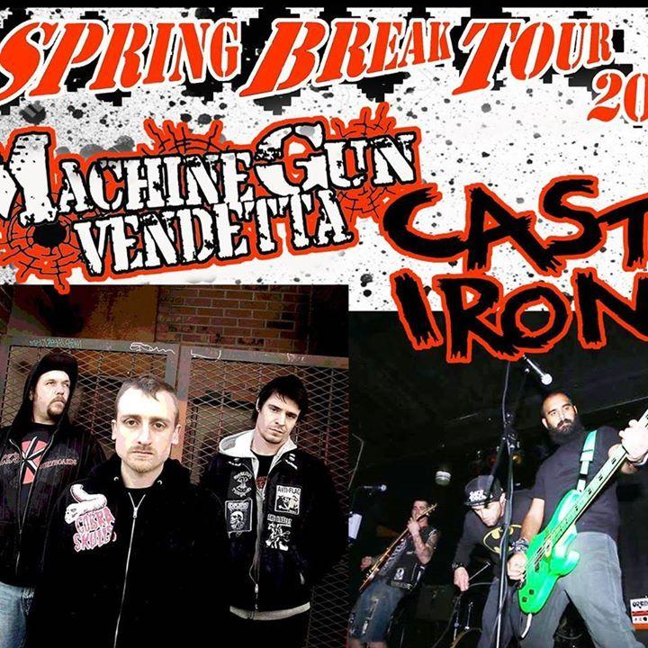 Machine Gun Vendetta Tour Dates