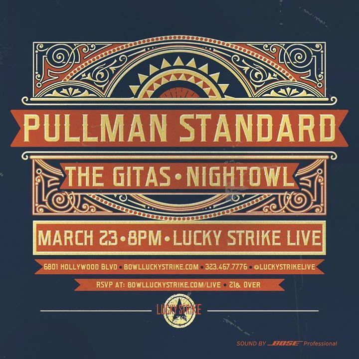 Pullman Standard Tour Dates