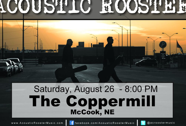 Acoustic Rooster @ The Coppermill - Mccook, NE