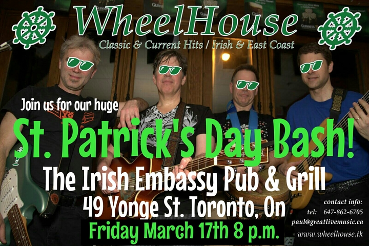 WheelHouse - Toronto Tour Dates