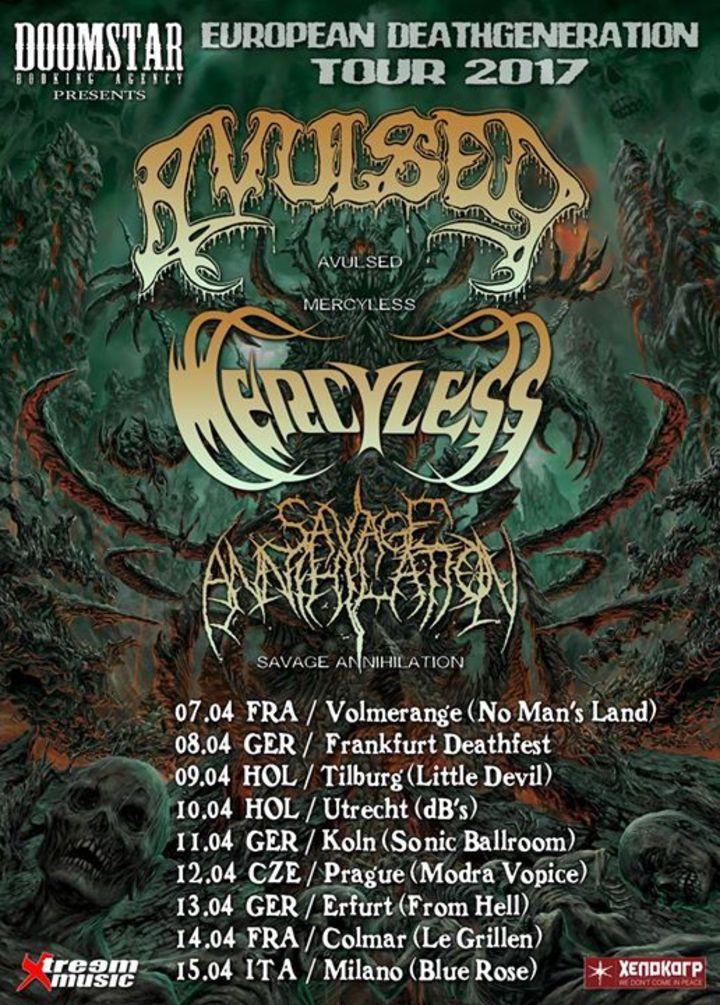Avulsed Tour Dates