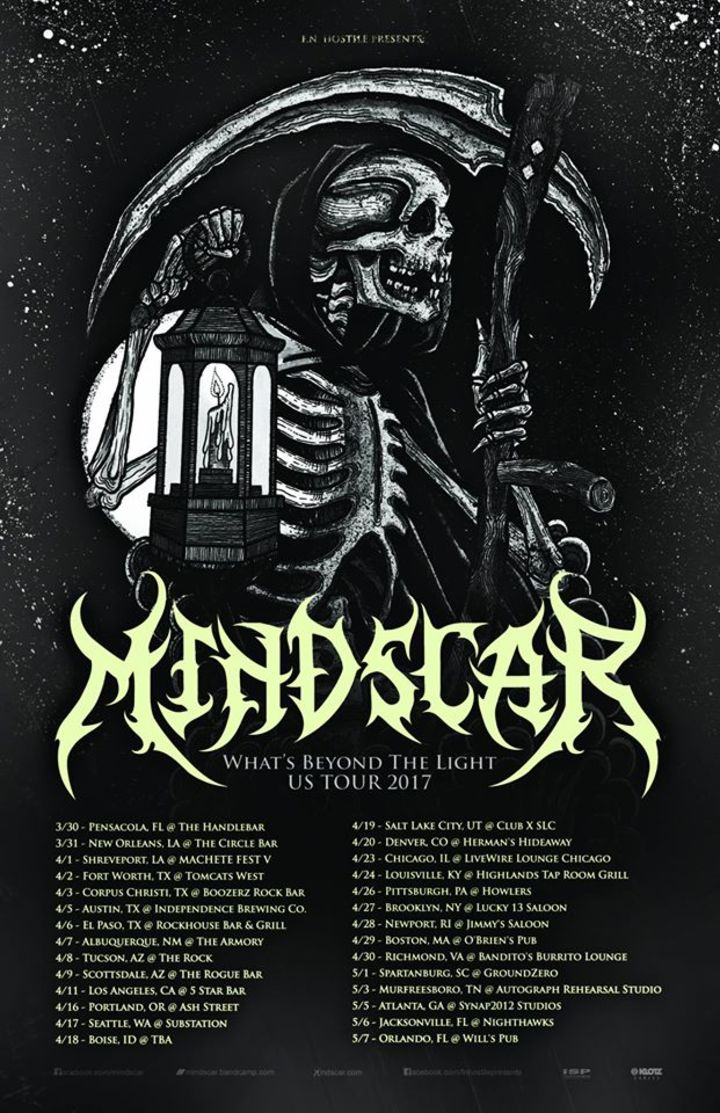 MINDSCAR Tour Dates