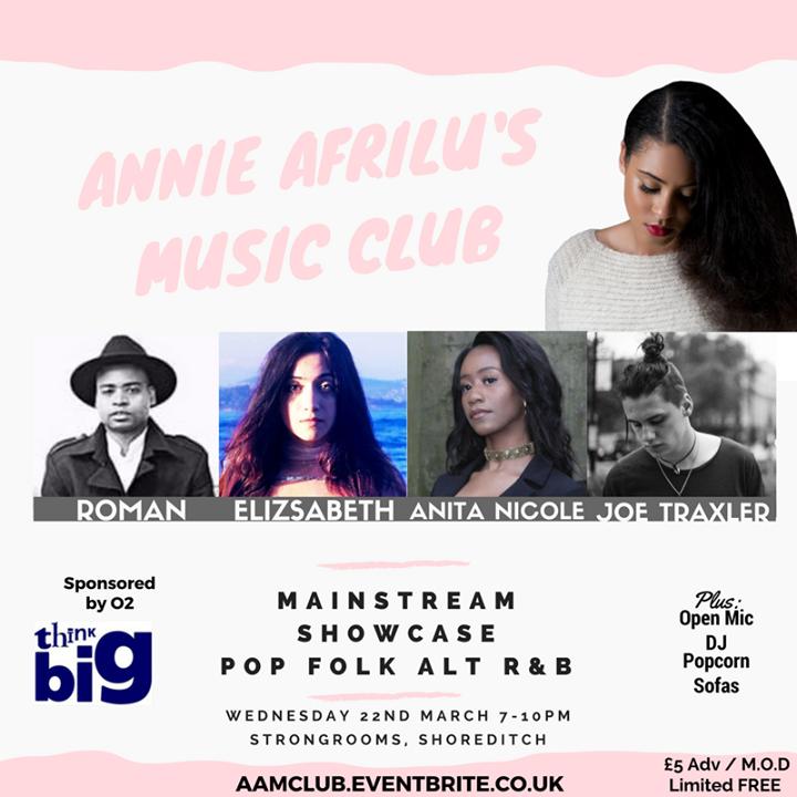 Annie Afrilu Tour Dates