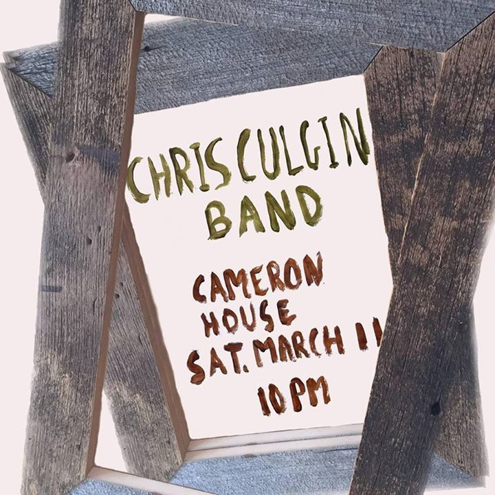 Chris Culgin Tour Dates