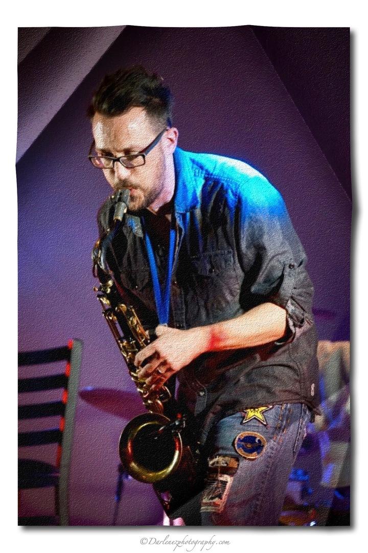 The Norman Jackson Band @ Dusk Til Dawn Blues Fest  - Rentiesville, OK
