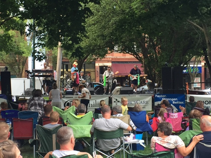 The Compass Rose Band @ Marion Square Park - Marion, IA