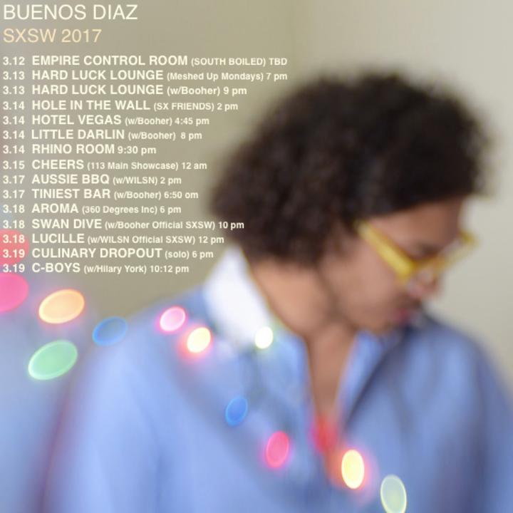 Buenos Diaz Tour Dates