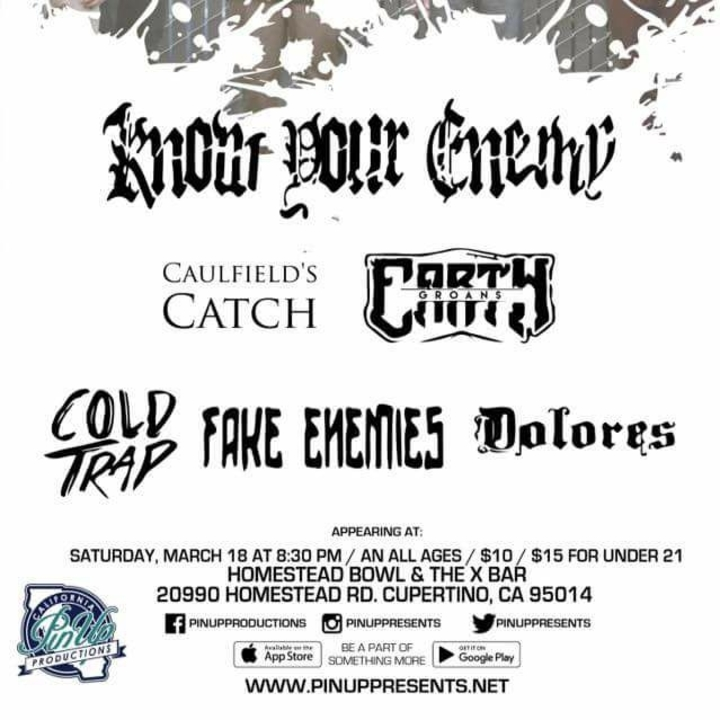Fake Enemies Tour Dates