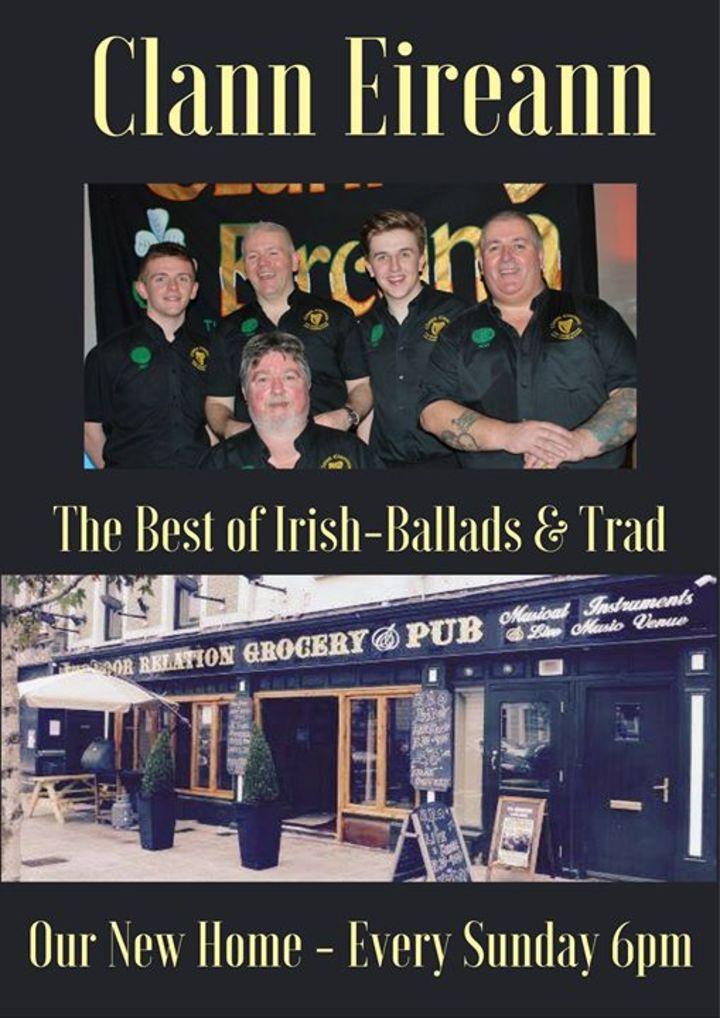 Clann Éireann Tour Dates