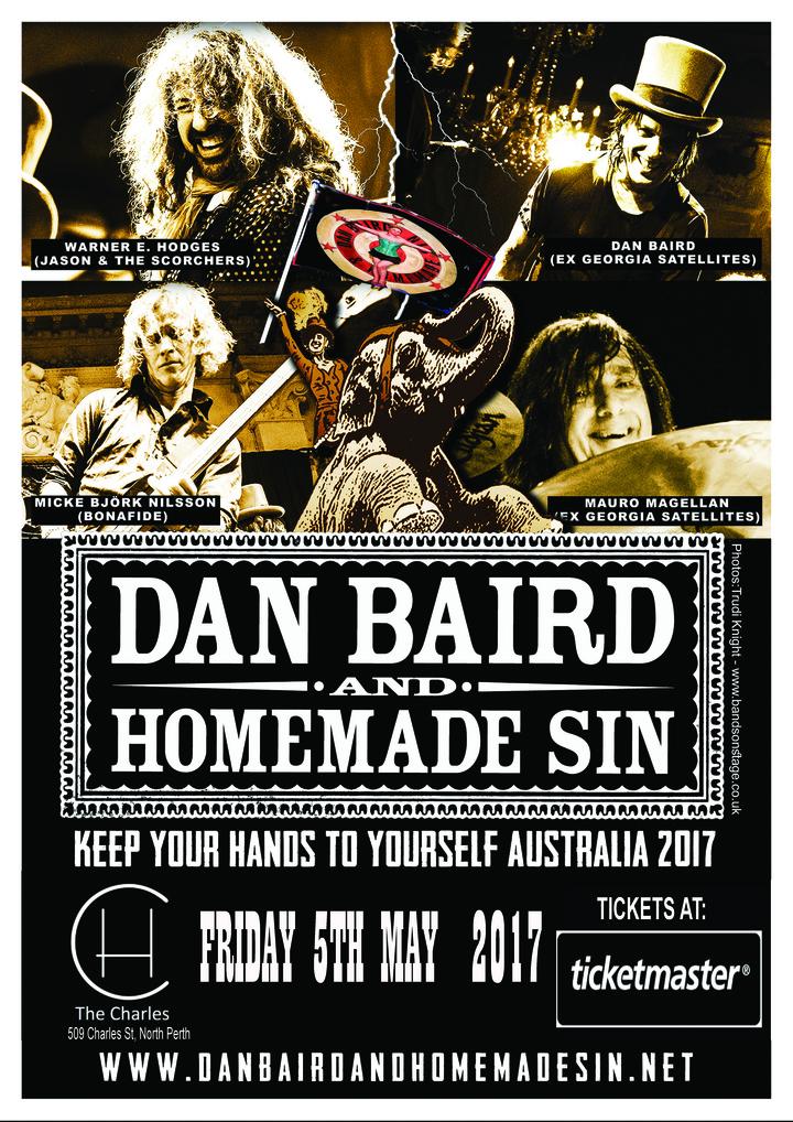 Dan Baird and Homemade Sin @ Th Charles Hotel - North Perth, Australia