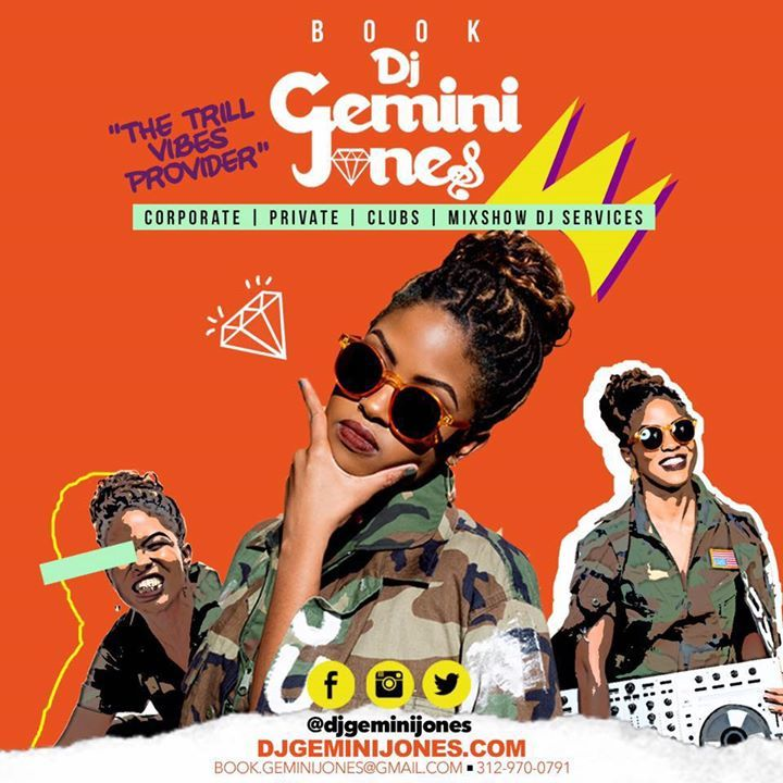 DJ GEMINI JONES Tour Dates