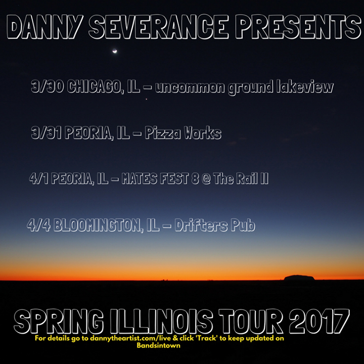 Danny Severance & the Pink Slips Tour Dates