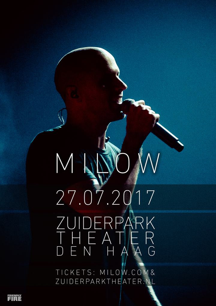 Milow @ ZuiderparkTheater - The Hague, Netherlands