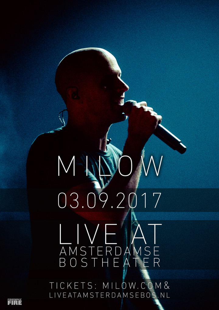 Milow @ Live At Amsterdamse Bos - Amsterdam, Netherlands