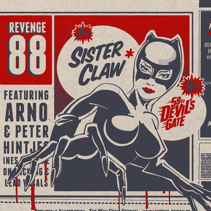 Revenge 88 Tour Dates