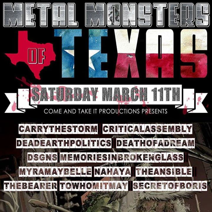 Critical Assembly @ Grizzly Hall - Austin, TX