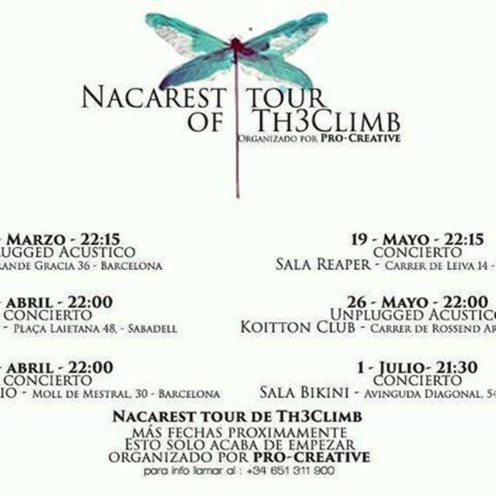 The Climb Tour Dates