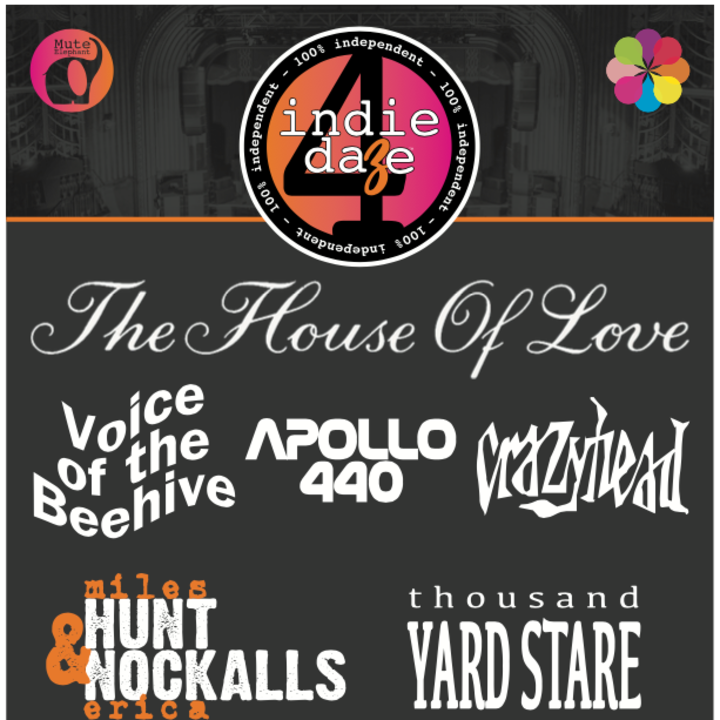 The House of Love Tour Dates
