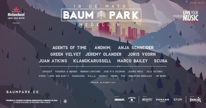 Jeremy Olander @ Baum Park - Medellin, Colombia
