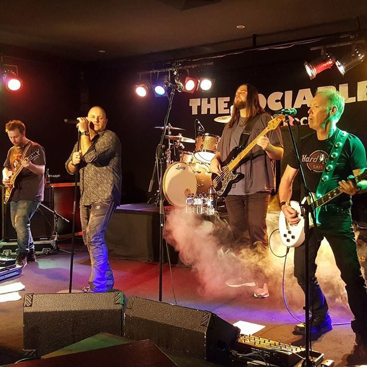 The Sociables, classic rock and blues. @ Maroondah Sports Club - Ringwood East, Australia
