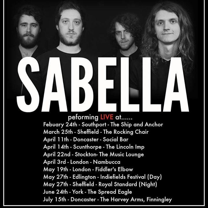 Sabella Tour Dates