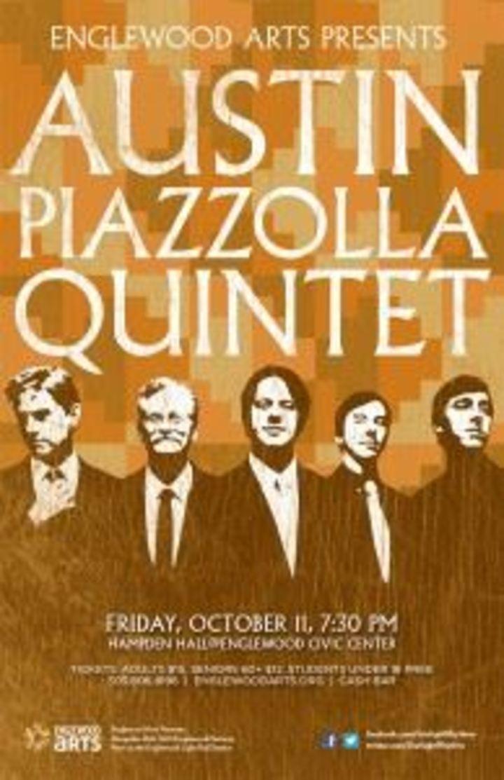 Austin Piazzolla Quintet Tour Dates