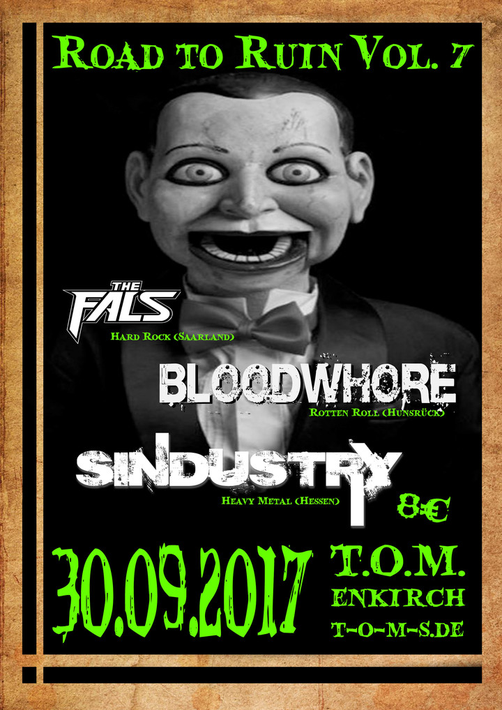 Bloodwhore @ T.O.M. - Enkirch, Germany