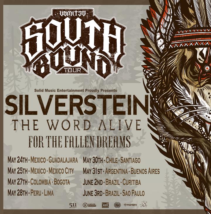 Silverstein @ Auditorio Lumiere - Bogota, Colombia
