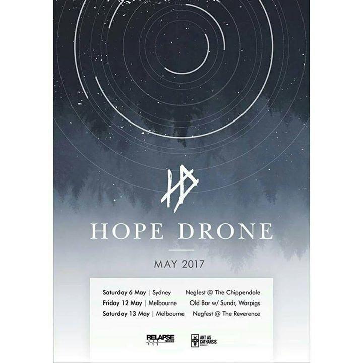 Hope Drone Tour Dates