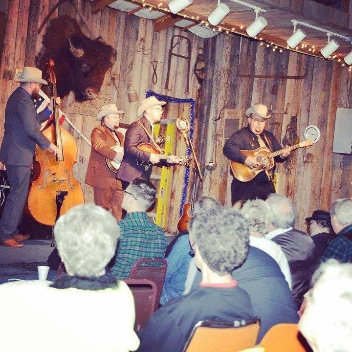 The Po' Ramblin' Boys @ Dumplin Valley Bluegrass Festival - Kodak, TN