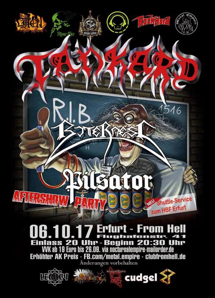Tankard @ From Hell - Erfurt, Germany