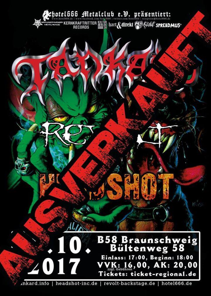 Tankard @ B58 - Braunschweig, Germany
