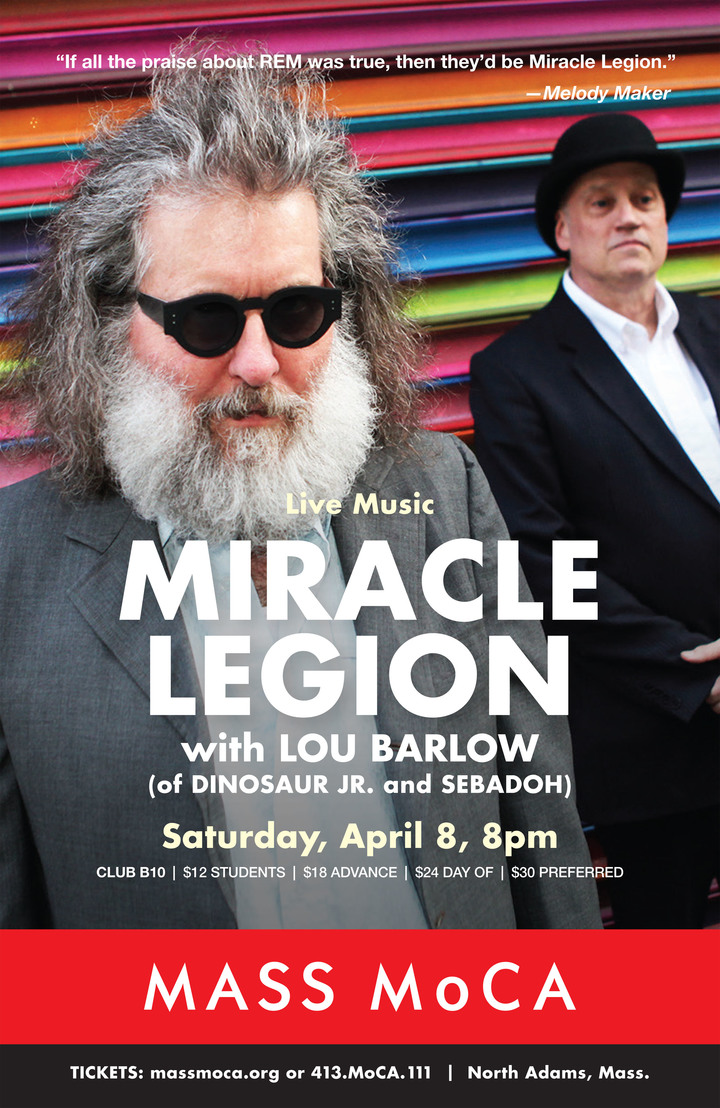 Miracle Legion @ Mass Moca - North Adams, MA