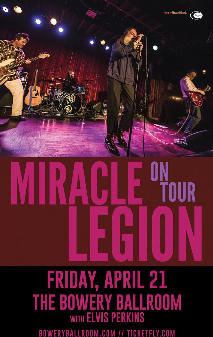 Miracle Legion @ Bowery Ballroom - New York, NY