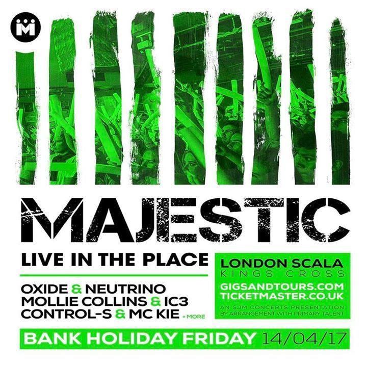 Majestic @ O2 Academy Bournemouth - Bournemouth, United Kingdom