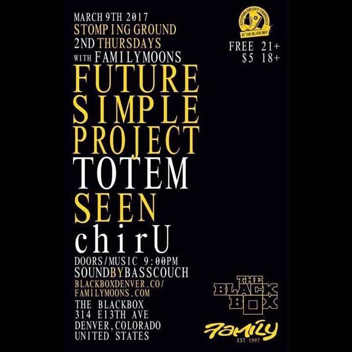 Future Simple Project Tour Dates