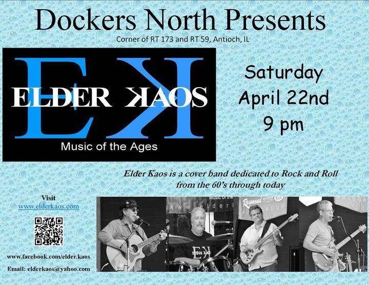 Elder Kaos Band @ Dockers - Fox Lake, IL