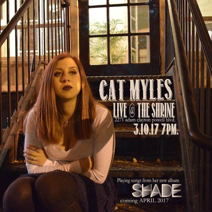 Cat Myles Tour Dates