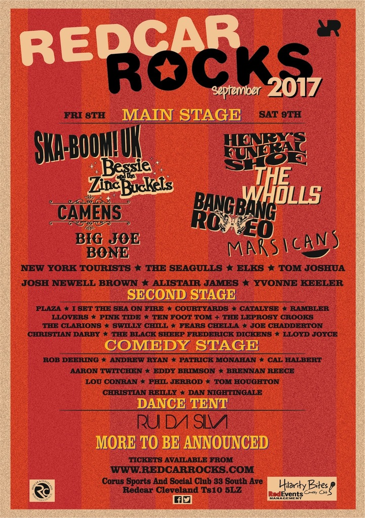 Henry's Funeral Shoe @ Redcar Rocks Festival - Redcar, United Kingdom