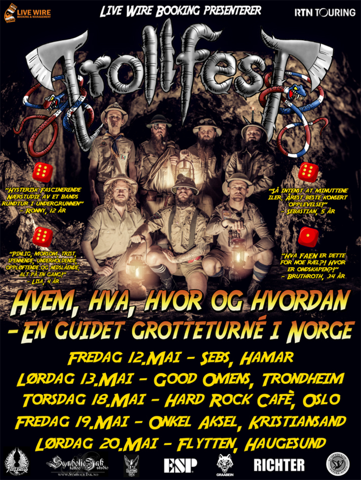TrollfesT @ Hard Rock Cafè - Oslo, Norway