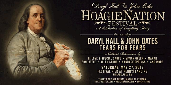 G. Love & Special Sauce @ Daryl Hall & John Oates Festival HOAGIENATION - Philadelphia, PA