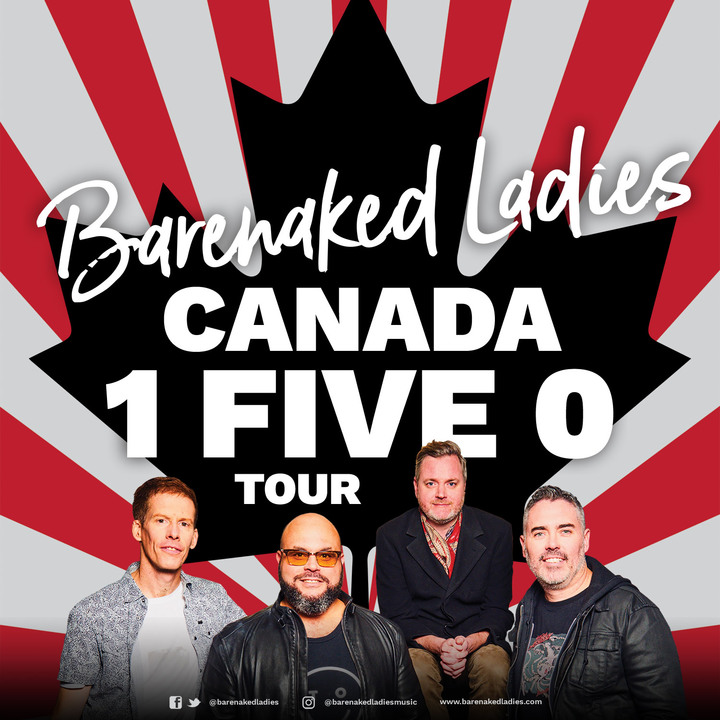 Barenaked Ladies @ Jeanne & Peter Lougheed Performing Arts Centre - Camrose, Canada