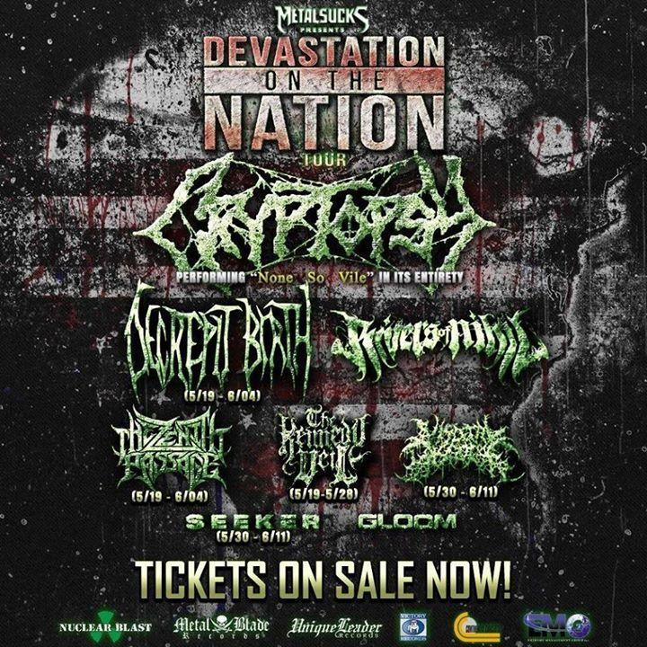 VISCERAL DISGORGE Tour Dates