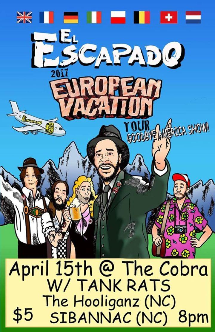 El Escapado Tour Dates