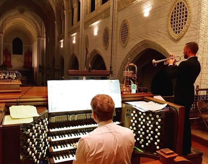 Deux Voix @ Basilica of Saints Peter & Paul - Lewiston, ME