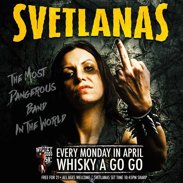 SVETLANAS Tour Dates