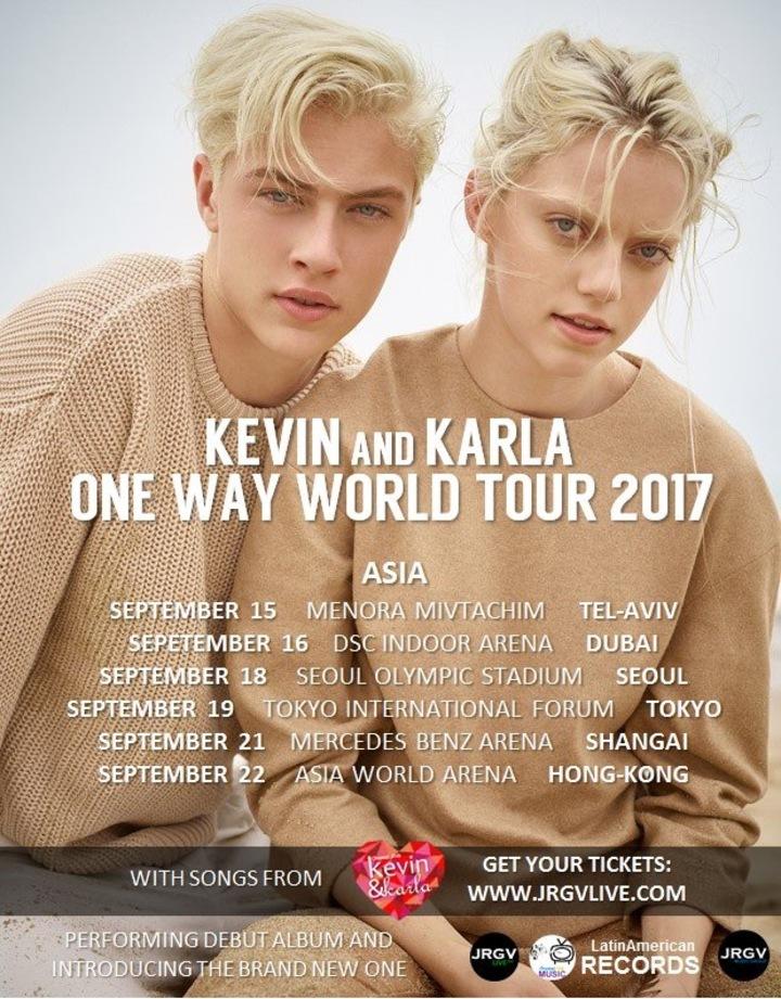 Kevin & Karla @ Mercedes-Benz Arena - Shanghai, China