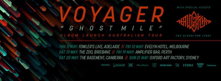 Voyager Australia Tour Dates