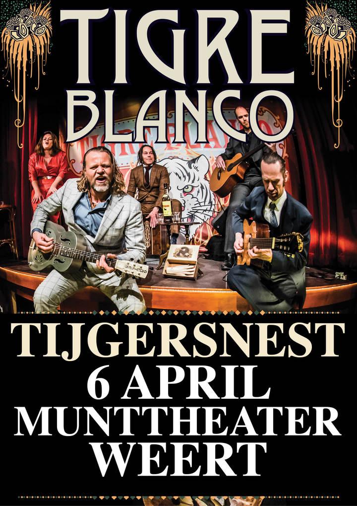 Tigre Blanco @ Munttheater - Weert, Netherlands
