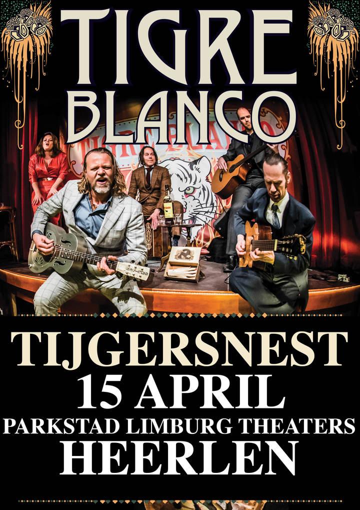 Tigre Blanco @ Parkstad Limburg Theaters - Heerlen, Netherlands